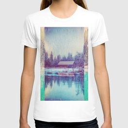 Abstract Winter Landscape T-shirt