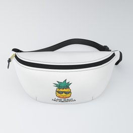 Love Pineapples Funny Summer I Just Really Like Pineapples Fanny Pack