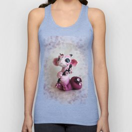 Cherry Blossom Dragon Unisex Tank Top