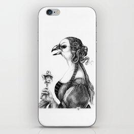 Tête-à-tête with Botticelli iPhone Skin