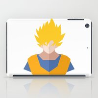 goku iPad Cases featuring Goku SSJ by Cristiano Ávila Salomão