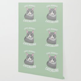 Cats Against Catcalling Wallpaper