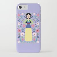 mulan iPhone & iPod Cases featuring Mulan by Carly Watts