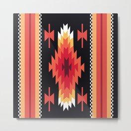 American Native Pattern No. 41 Metal Print