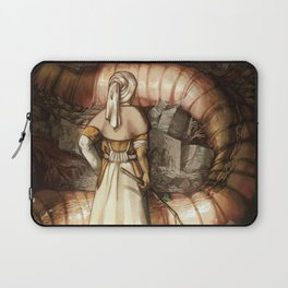 The Midwife and the Lindworm - Title Version Laptop Sleeve
