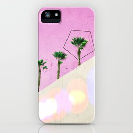 Levitated Mass (Pink) iPhone Case