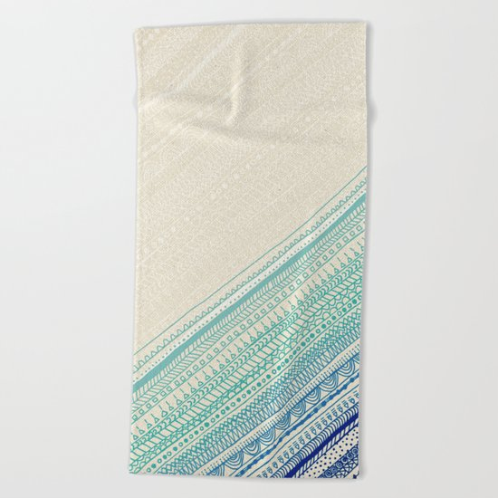 Ocean's Edge Beach Towel