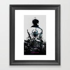 Everyone deserves a hero Framed Art Print