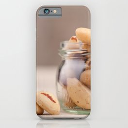 Brazil nuts from Bertholletia excelsa iPhone Case