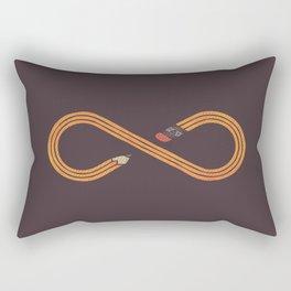 Draw Forever Rectangular Pillow