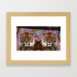 2 is better than 1 Framed Art Print