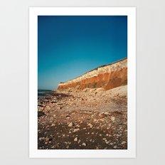 Sunny Hunny Cliffs Art Print