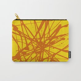 Bloom Yellow Carry-All Pouch