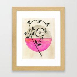 Old Fashioned Rose Framed Art Print