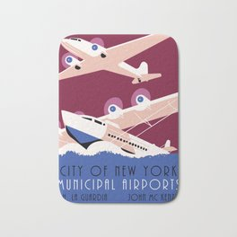 City of New York municipal airports Bath Mat