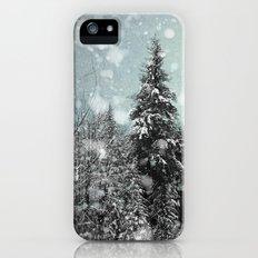 Snow iPhone (5, 5s) Slim Case