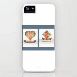 Child Health Day (Autism) 3 iPhone Case