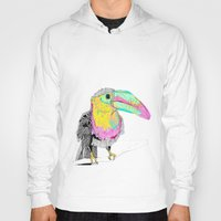 toucan Hoodies featuring Toucan by caseysplace