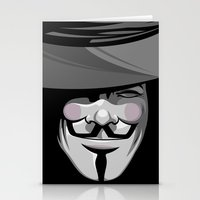 vendetta Stationery Cards featuring Vendetta by BiggStankDogg