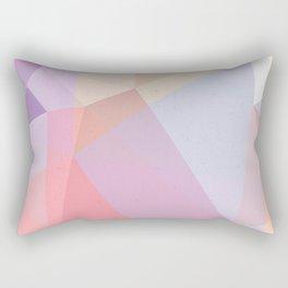 Powder Geometry - bright Rectangular Pillow