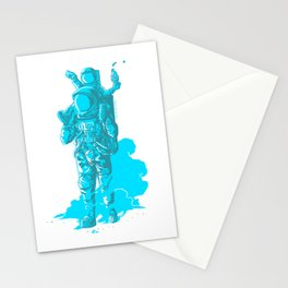 Onwards, Space Dad! Stationery Cards