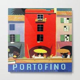 Vintage poster - Portofino Metal Print