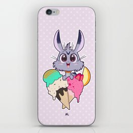 Bunnies - Icecream iPhone Skin