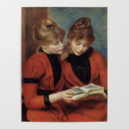 """Auguste Renoir """"The Two Sisters"""" Poster"""