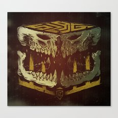Bone Slag Canvas Print