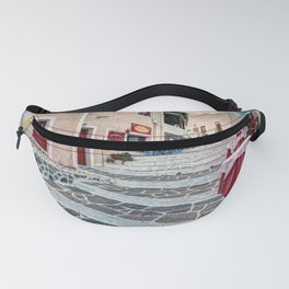 The traditional village of Plaka in Milos, Greece Fanny Pack