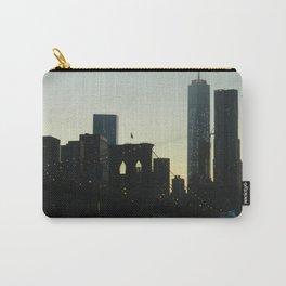 New York City Skyline at Dusk Carry-All Pouch
