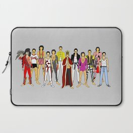 Outfits of Freddie Fashion Laptop Sleeve