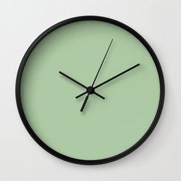 Sleigh Bell ~ Light Green Wall Clock