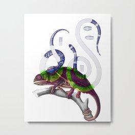 A Piscivorus Metal Print