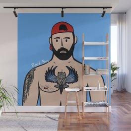 Beard Boy: Jose Santos Wall Mural
