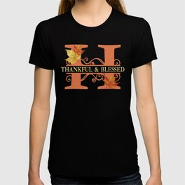 Thanksgiving H Monogram T-shirt