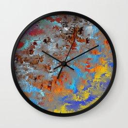 autumn fresh rainy days Wall Clock
