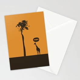 WTF? Jirafa! Stationery Cards