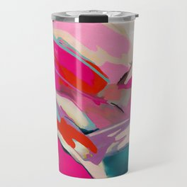 pink landscape Travel Mug