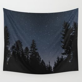 Star Night in the Woods | Nature and Landscape Photography Wall Tapestry
