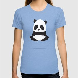 Mindful panda levitating T-shirt