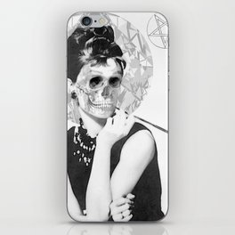 Audrey Hepburn You Son of a... iPhone Skin