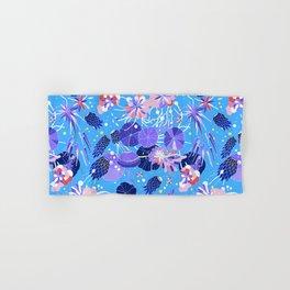 In Bloom Flower Print Hand & Bath Towel