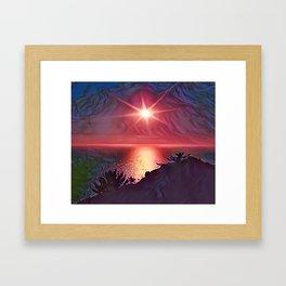 Lake Toba Framed Art Print