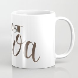 Hot Cocoa hand lettered sign Coffee Mug