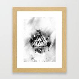 iPhone 4S Print - White Framed Art Print