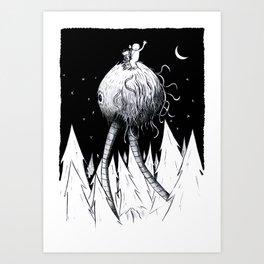 Riding The Selch Art Print