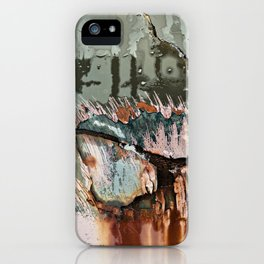 Corrosion Colors I iPhone Case