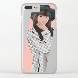 hinanchu silent siren Clear iPhone Case