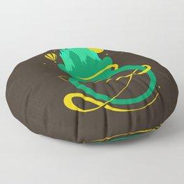 Emerald Ring Floor Pillow